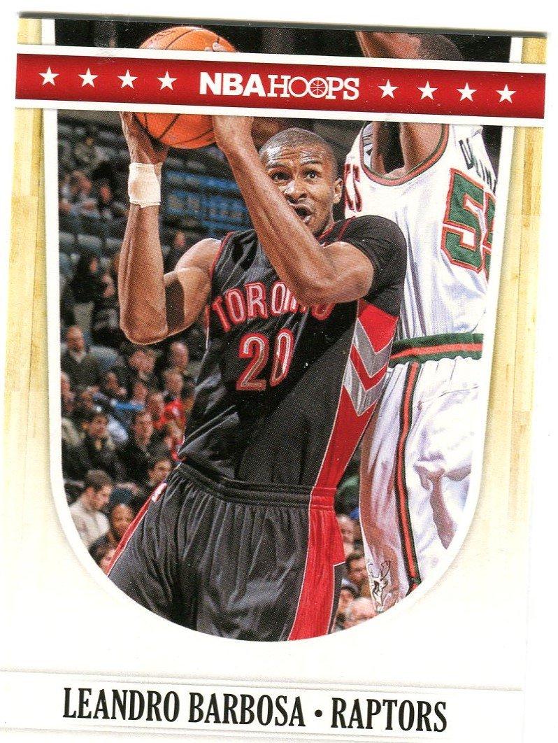 2011 Hoops Basketball Card #224 Leonardo Barbosa