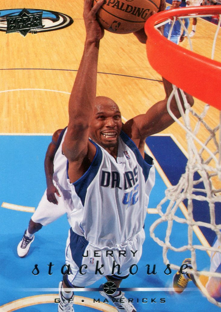 2008 Upper Deck Basketball Card #38 Jerry Stackhouse