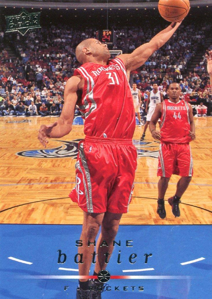 2008 Upper Deck Basketball Card #63 Shane Battier