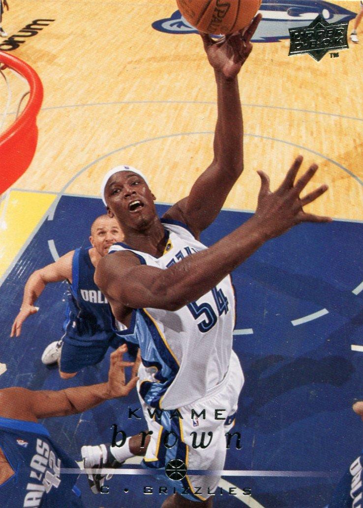 2008 Upper Deck Basketball Card #91 Kwame Brown