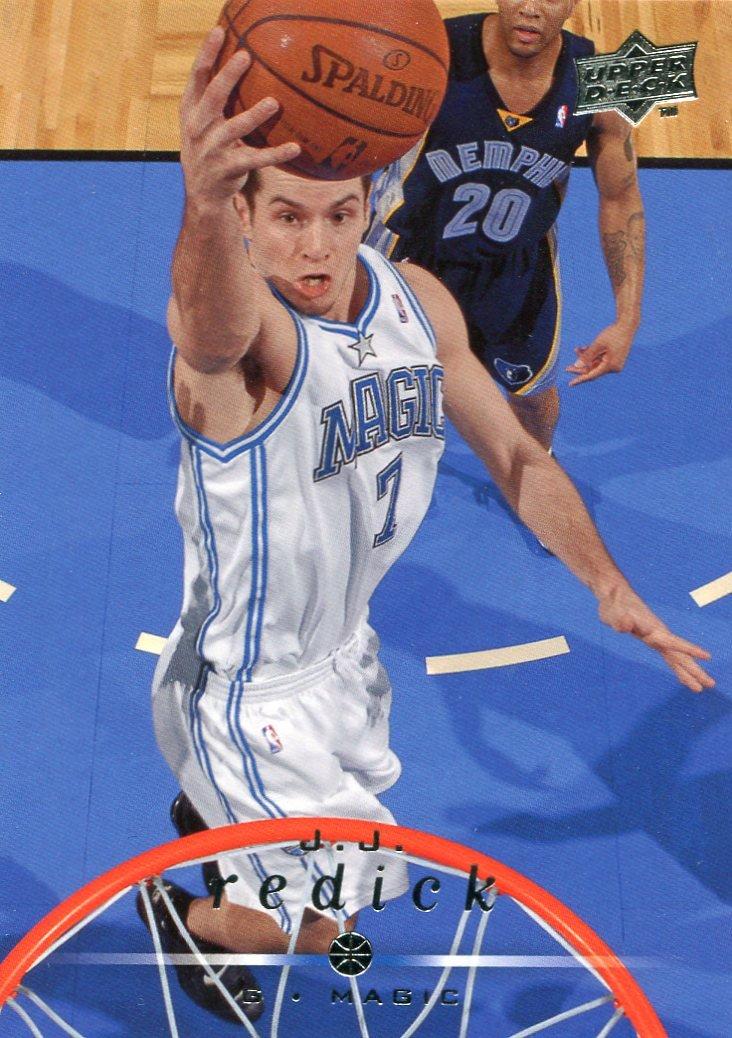 2008 Upper Deck Basketball Card #136 J J Redick
