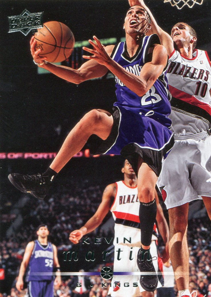 2008 Upper Deck Basketball Card #164 Kevin Martin