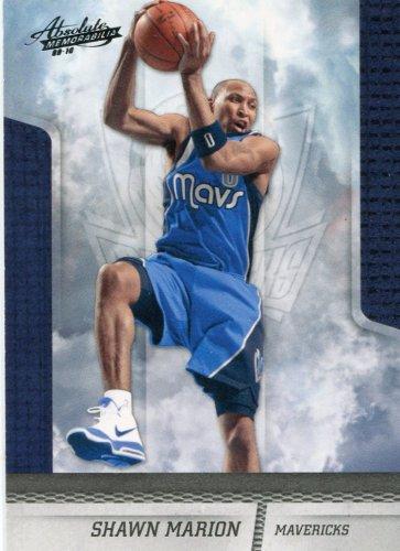 2009 Absolute Basketball Card #78 Shawn Marion