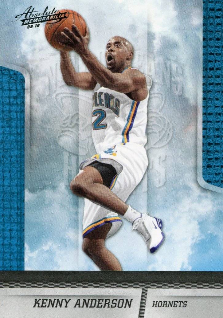2009 Absolute Basketball Card #124 Kenny Anderson