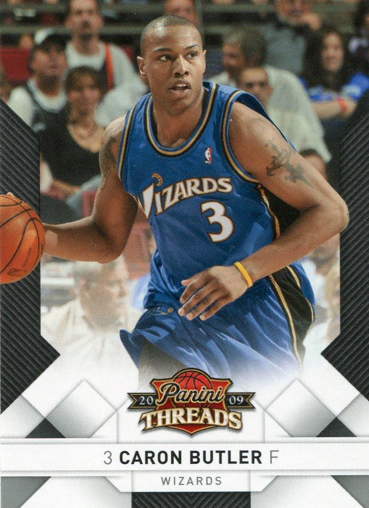 2009 Threads Basketball Card #25 Caron Butler