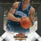 2009 Threads Basketball Card #31 Carlos Boozer