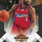 2009 Threads Basketball Card #50 Baron Davis