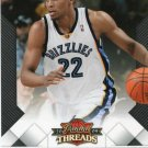 2009 Threads Basketball Card #51 Rudy Gay