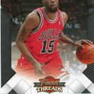 2009 Threads Basketball Card #55 John Salmons