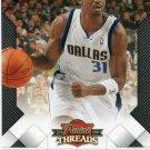 2009 Threads Basketball Card #62 Jason Terry