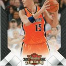 2009 Threads Basketball Card #67 Andris Biedrins