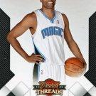 2009 Threads Basketball Card #27 Vince Carter