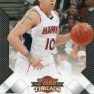 2009 Threads Basketball Card #87 Mike Bibby