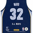 2009 Threads Basketball Card Team Threads #21 O J Mayo