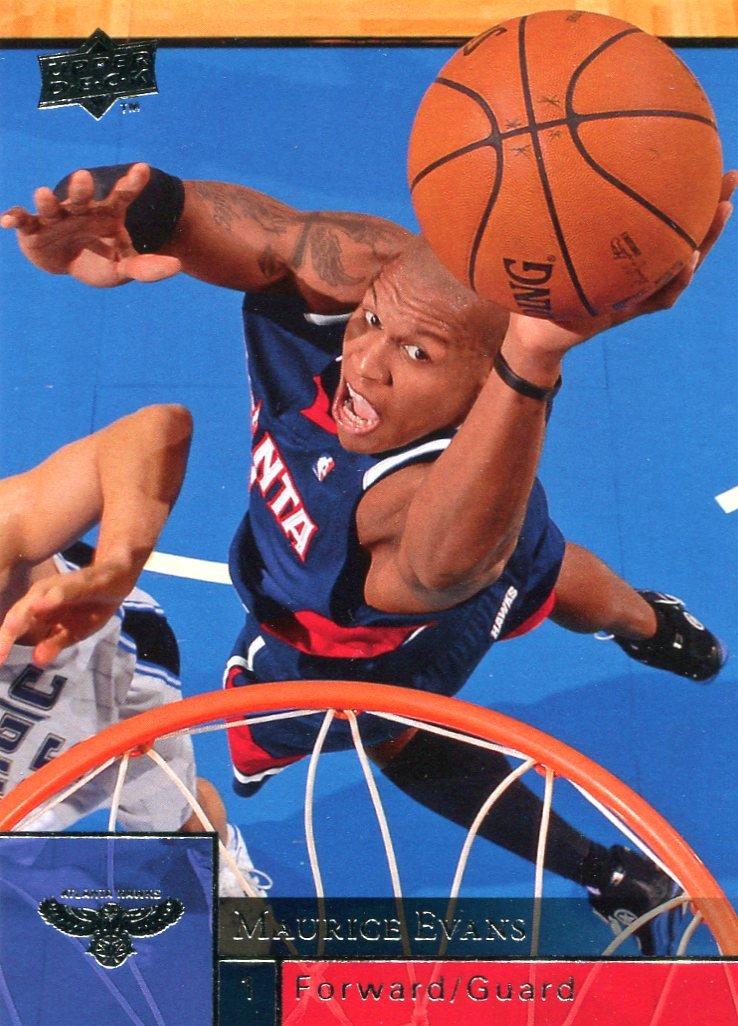 2009 Upper Deck Basketball Card #6 Maurice Williams