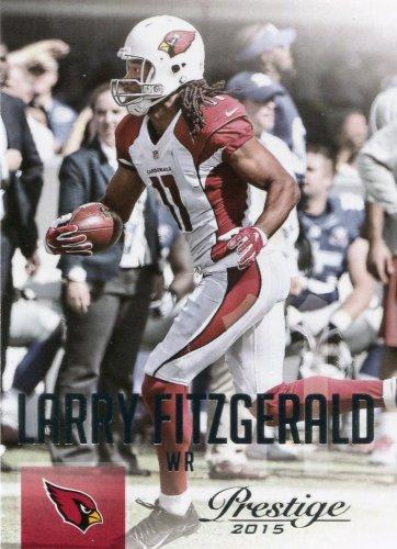 2015 Prestige Football Card #183 Larry Fitzgerald