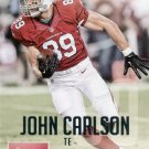 2015 Prestige Football Card #185 John Carlson