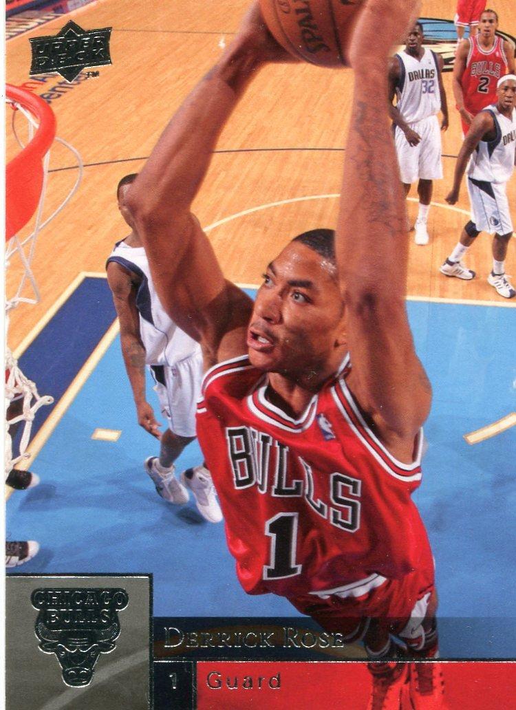 2009 Upper Deck Basketball Card #21 Derrick Rose