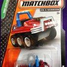 2014 Matchbox #58 ATV 6x6