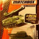 2014 Matchbox #101 Green Blockade Buster