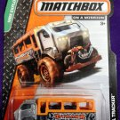 2014 Matchbox #117 Travel Tracker GRAY/ORANGE