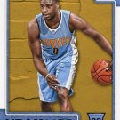 2015 Hoops Basketball Card #294 Emmanuel Mudiay