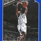 2015 Hoops Basketball Card Blue Parallel #155 Andrew Wiggins