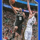 2015 Hoops Basketball Card Blue Parallel #207 Corey Joseph