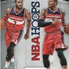 2015 Hoops Basketball Card Double Trouble #1 John Wall / Bradley Beal