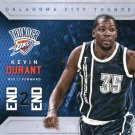 2015 Hoops Basketball Card End 2 End #7 Kevin Durant