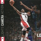2015 Hoops Basketball Card Lights Camera Action #14 Kyle Lowry