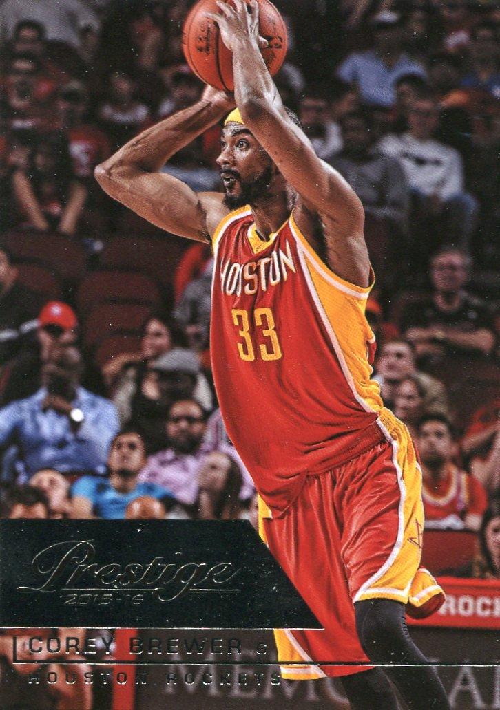 2015 Prestige Basketball Card #16 Corey Brewer