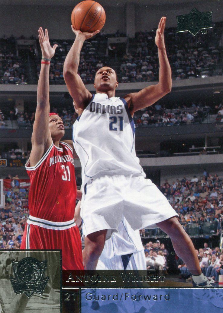 2009 Upper Deck Basketball Card #38 Antoine Wright