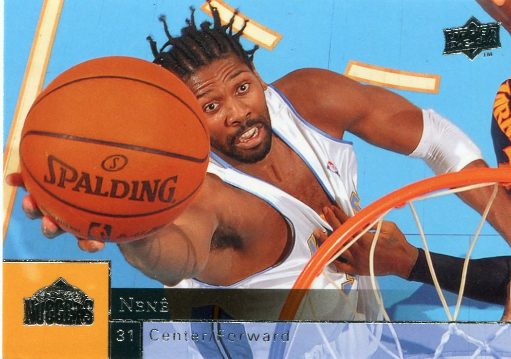 2009 Upper Deck Basketball Card #45 Nene