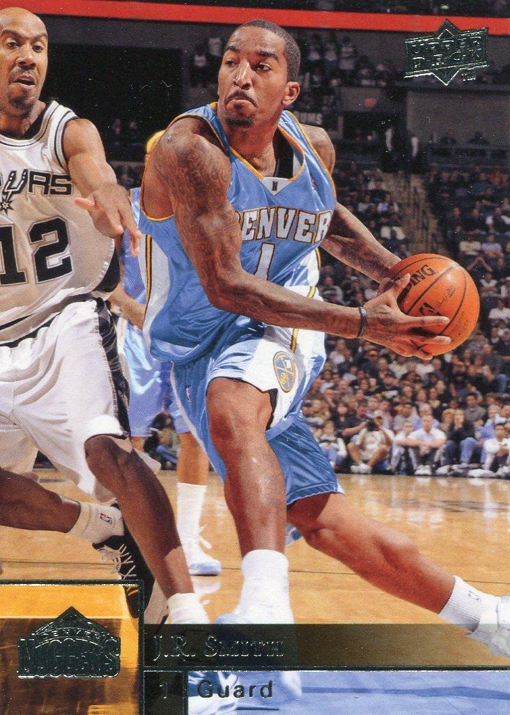2009 Upper Deck Basketball Card #46 J R Smith