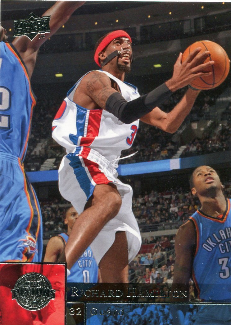 2009 Upper Deck Basketball Card #48 Richard Hamilton