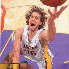 2009 Upper Deck Basketball Card #80 Pau Gasol