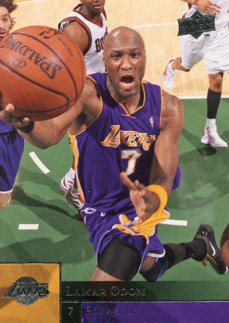 2009 Upper Deck Basketball Card #81 Lamar Odom