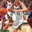 2009 Upper Deck Basketball Card #100 Luke Ridnour