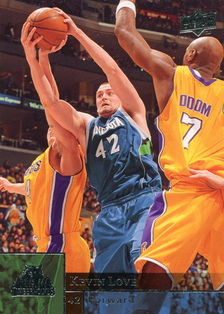 2009 Upper Deck Basketball Card #107 Kevin Love