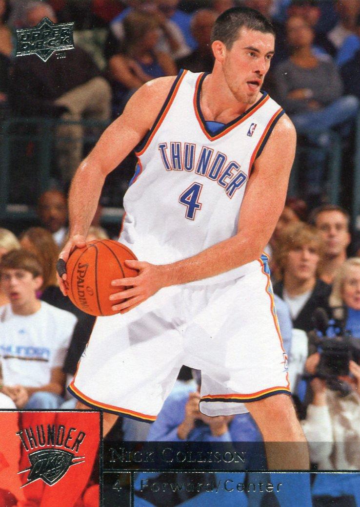 2009 Upper Deck Basketball Card #138 Nick Collison