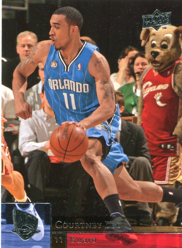 2009 Upper Deck Basketball Card #141 Courtney Lee
