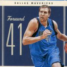 2010 Classic Basketball Card #1 Dirk Nowitzki