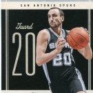 2010 Classic Basketball Card #7 Manu Ginobli