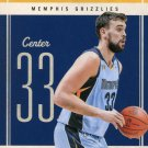 2010 Classic Basketball Card #11 Marc Gasol