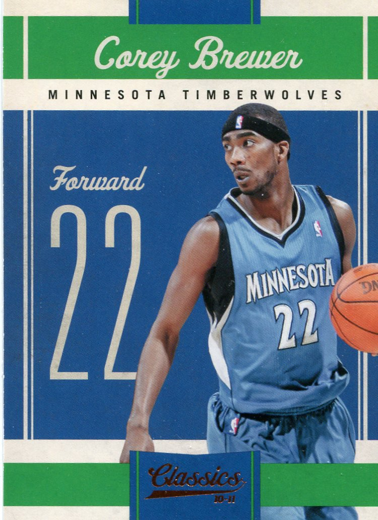 2010 Classic Basketball Card #38 Corey Brewer