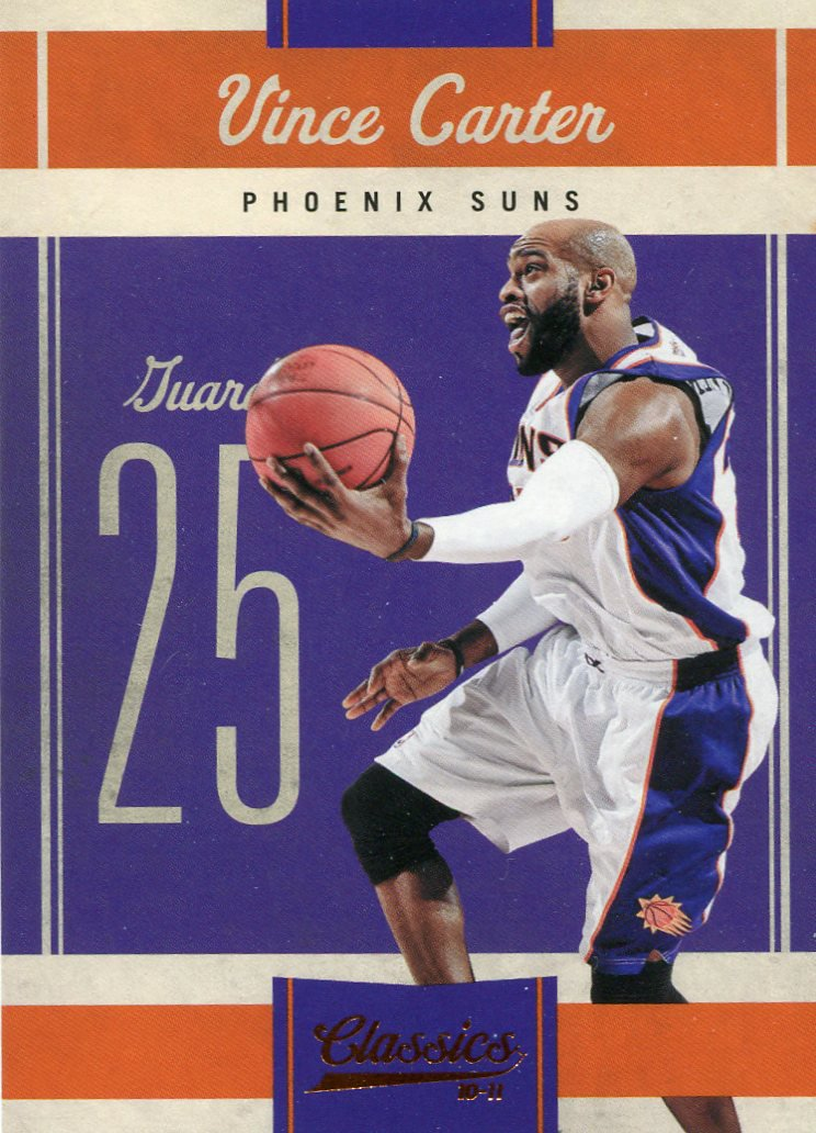 2010 Classic Basketball Card #25 Vince Carter