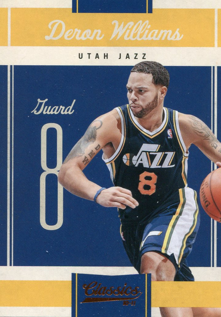 2010 Classic Basketball Card #48 Deron Williams