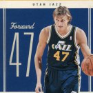 2010 Classic Basketball Card #49 Andrei Kirilenko