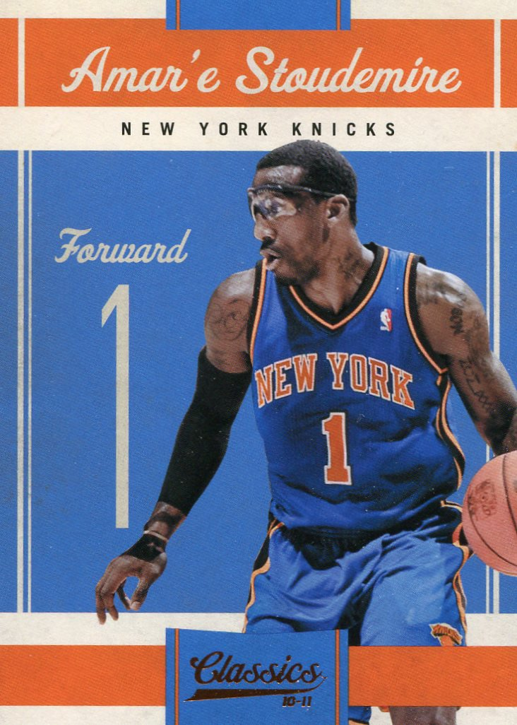 2010 Classic Basketball Card #54 Amar'e Stoudemire